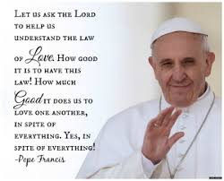 pope on love