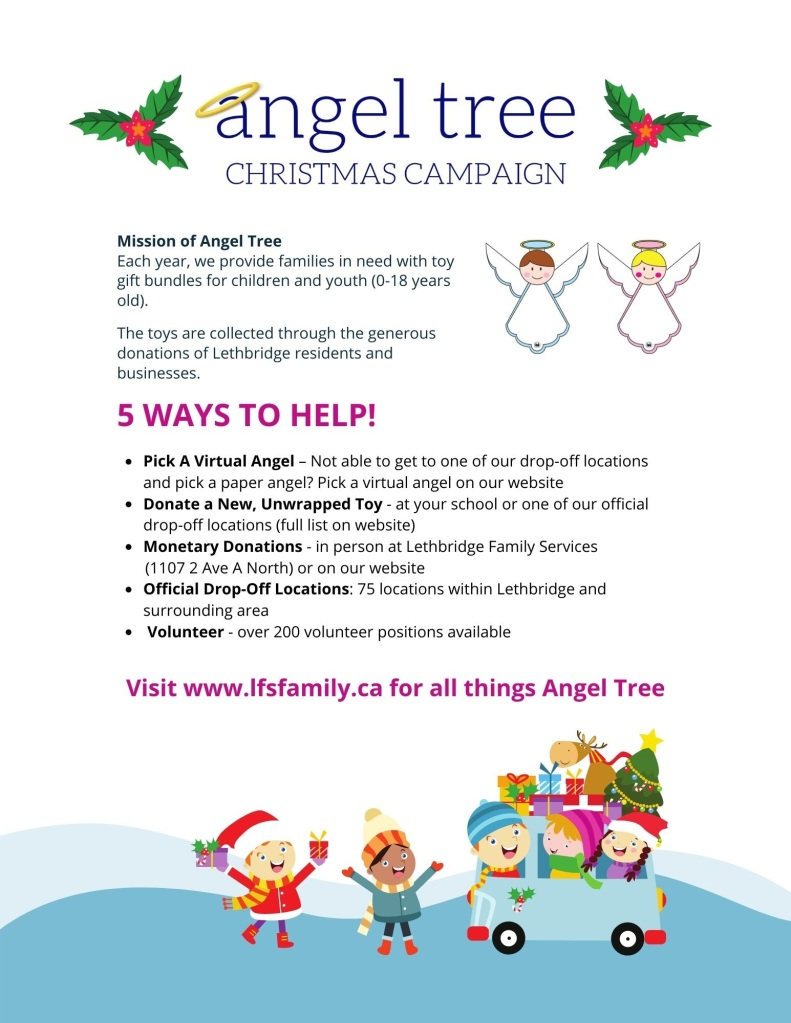 STC Angel Tree Campaign 2020
